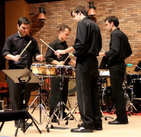 Portland Percussion Group performs Saturday at Lewis & Clark College.