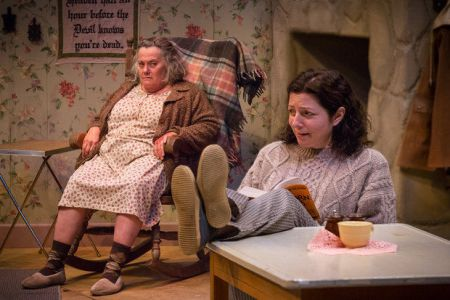 "Jayne Tahni (left), Maureen Porter in ""The Beauty Queen of Leenane."" Photo: Owen Carey"