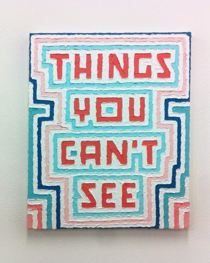 Calvin Ross Carl, Stop Believing (Things You Can't See), 2014