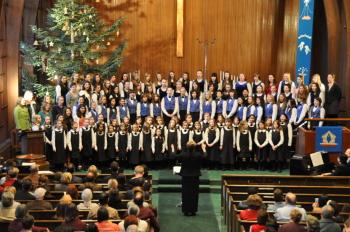 Portland Symphonic Girlchoir sings Saturday.