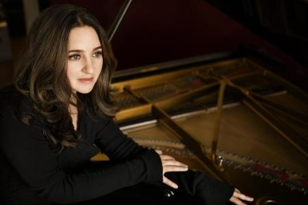 Simone Dinnerstein performs Sunday and Monday at Portland State University. Photo: Lisa Marie Mazzucco.