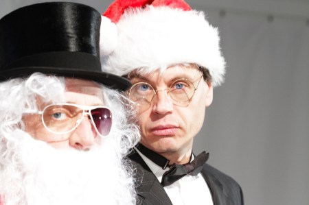 Jeff Marchant and Leo Daedalus in Liminal's SANTA.