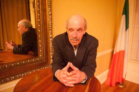 """Roisum in Conor McPherson's """"St. Nicholas."""" Photo: Win Goodbody/Corrib Theatre"""