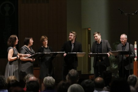 Nordic Voices performed at Portland's St. Philip Neri Church. Photo: John Green.