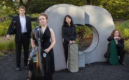 Delgani Quartet performs April 7 in Eugene.
