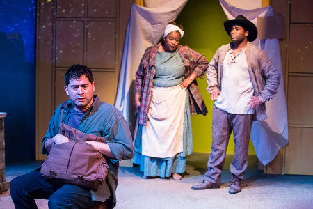 Osvaldo Gonzalez, Shelley B. Shelley, Joe Gibson: ordinary heroes. Photo: Russell J Young