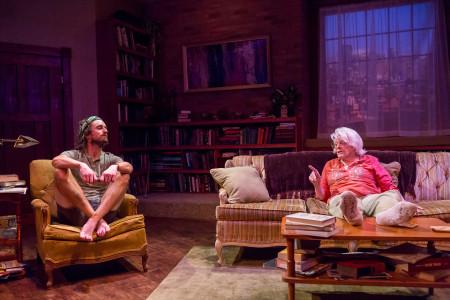 "Joshua Weinstein and Vana O'Brien in Amy Herzog's ""4000 Miles"" at Artists Repertory Theatre/Owen Carey"