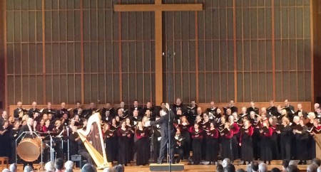Sperry conducted Oregon Repertory Singers in April.