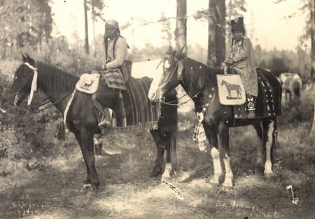 F.A. Young (American, 1862–1922), Warm Springs Indian Women on Horseback, 1902; Collection of Maryhill Museum of Art