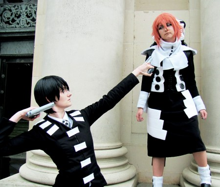 Emily and Erica as Death the Kid and Crona from Soul Eater/Photo by Ruth Drake