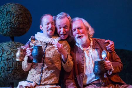 Orion Bradshaw, Allen Nause and Jim Butterfield provide the hijinks in the Shakespeare Project's 'Twelfth Night'/David Kinder