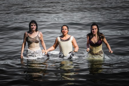 "Portland Experimental Theatre Ensemble  has taken to the sea for ""Drowned Horse Tavern,"" part of CoHo's Summerfest."