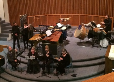 Cascadia Composers percussion concert.