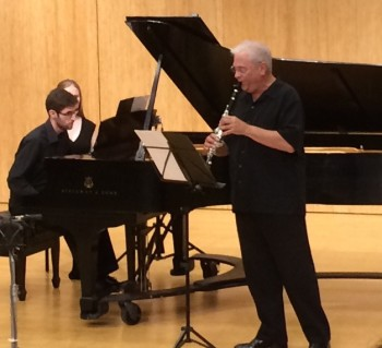 Yontov and Shifrin played music by Schoenfield at Chamber Music Northwest.