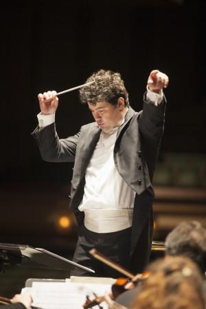 Eugene Symphony music director Danail Rachev. Photo: Eugene Symphony.