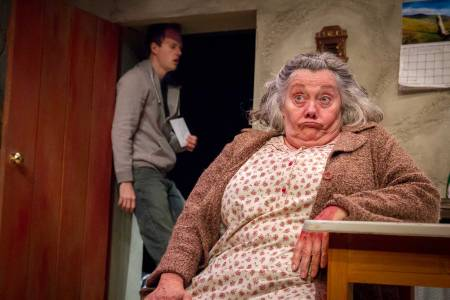 "Jayne Taini in ""The Beauty Queen of Leenane""/Photo by Owen Carey"