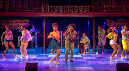The rhythm and sound of Cuba Libre at Artists Rep. Photo: Owen Carey