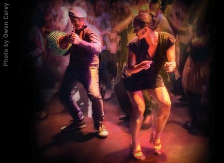 The sights and sounds of Cuba Libre: Tiempo Libre's Xavier Mili and choreographer Maija Garcia. Photo: Owen Carey