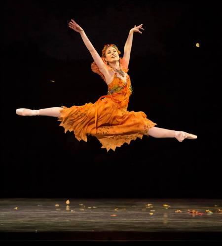 Oregon Ballet Theatre soloist Candace Bouchard: the company kicks off its fall season on Saturday. Photo: Blaine Truitt Covert