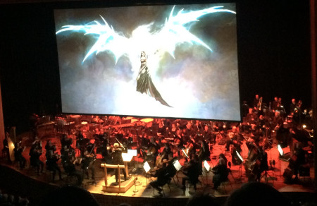 "The Oregon Symphony performed in ""rePLAY: Symphony of Heroes"" last March."