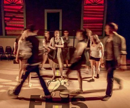 """Stumptown's """"Carrie"""": It's a bloody massacre. Photo: Paul Fardig"""