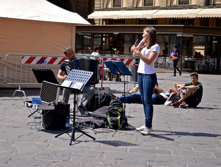 verdi singing