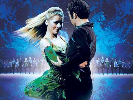 Riverdance Leads Emma Warren and Bobby Hodges. Courtesy of Riverdance.