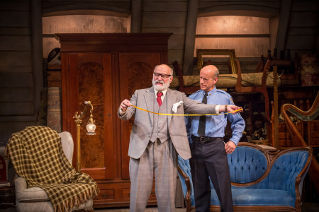 "Joseph Costa (left) and Michael Elich in ""The Price."" Photo: Owen Carey"
