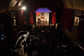 The set of Viva's Holiday. Photo: Jessica Beer.