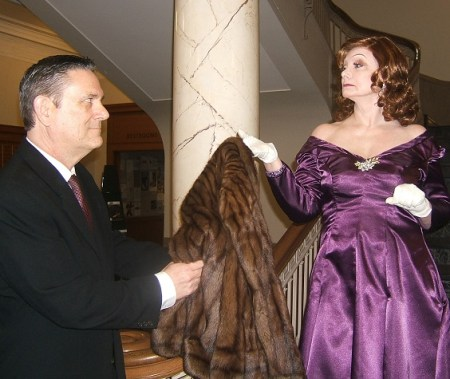 """David Sargent and Margie Boule in """"Looped"""" at Triangle Productions/Courtesy Triangle Productions"""