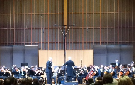 Clarinetist Michael Anderson joined the Portland Columbia Symphony in music by Tomas Svoboda.