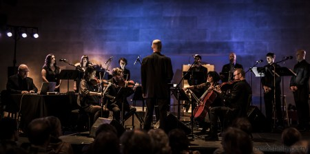 Roomful of Teeth performs at Marylhurst University and the University of Oregon. Photo: Mark Shelby Perry.