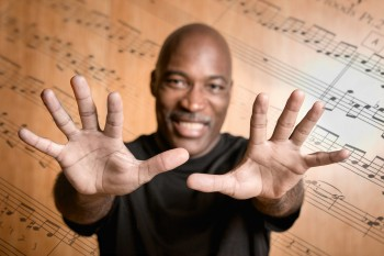 Portland pianist, composer and professor Darrell Grant.