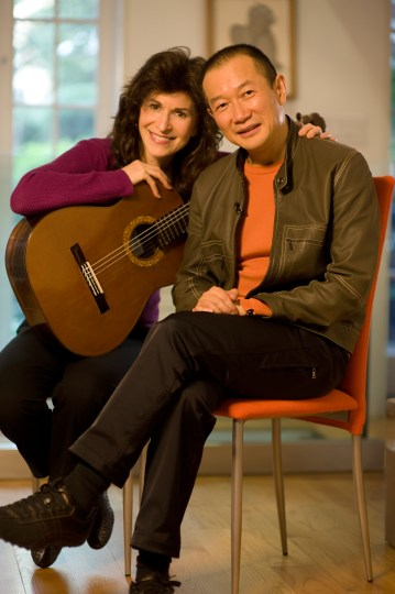 Classical guitarist Sharon Isbin plays music by Tan Dun and other composers Friday in Portland. Photo: Rob Fortunato