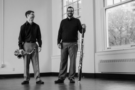 Post-Haste Reed Duo's CD release show is at Portland's The Waypost Saturday.