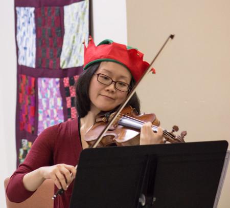 violinist close