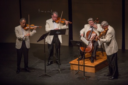 The Emerson Quartet will play Beethoven's earlier quartets this summer at Chamber Music Northwest/Photo credit: Tom Emerson