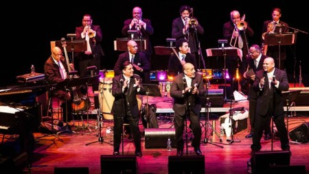 Spanish Harlem Orchestra opens the PDX Jazz Festival Feb. 18. Photo: Ab McNeely.