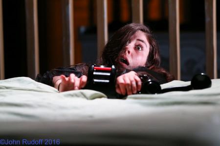 Gwendolyn Duffy in 'The Lady Aoi.' Photo: John Rudoff.