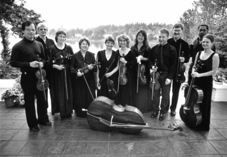 PBO in the early days. Photo: Portland Baroque Orchestra.