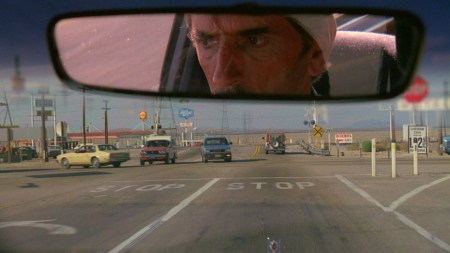 "Harry Dean Stanton in ""Paris, Texas"""