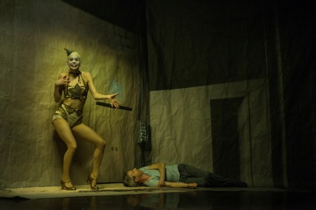 Kidd Pivot and Electric Company Theatre in Betroffenheit. Photo by Wendy D Photography
