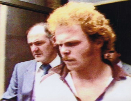 Kirk Bloodsworth at the time of his arraignment in 1985.