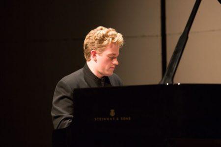 Joseph Moog performed at Portland Piano International. Photo: John Rudoff.