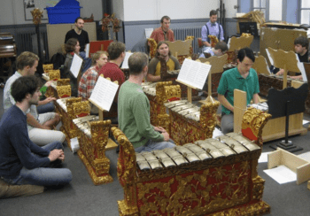 UO Pacific Rim Gamelan. Photo: Gary Ferrington.