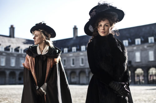 "Chloe Sevigny and Kate Beckinsale in ""Love & Friendship"""