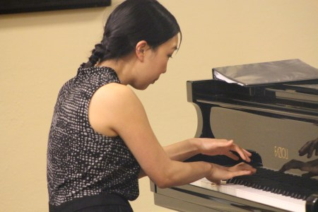 Tina Chong performed in Portland Piano International's Rising Star series.