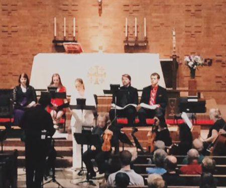 "Stradella's ""St. John the Baptist"" repeats in Eugene."