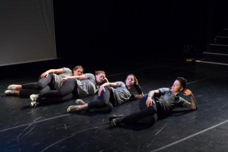 Ilvs Strauss, 'Doin' it Right' at Risk/Reward Festival. Photo by Chelsea Petrakis