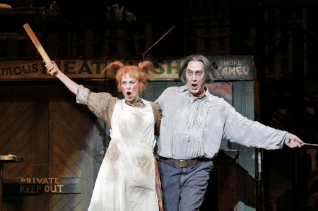 Susannah Mars as Mrs. Lovett and David Pittsinger as Sweeney Todd. Photo: Portland Opera.